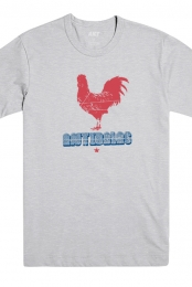 Rooster Tee (Heather Grey)