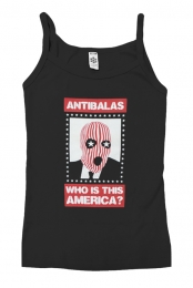 Womens Who Is This America Tank (Blank)