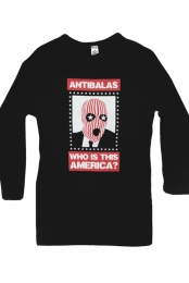 Womens Who Is This Longsleeve (Black)