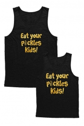 Gold Foil Pickles Tank