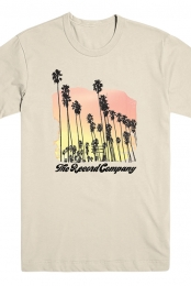 Palm Tree Tee (Natural)