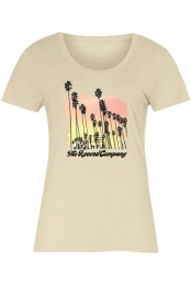 Palm Tree Women's Tee (Natural)