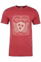 New South Rock Shield Tee (Red)