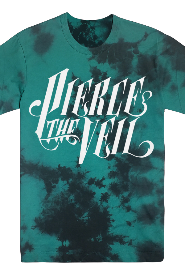 661a1297da9e3e Logo Tie Dye Tee (Turquoise) T-Shirt - Pierce The Veil T-Shirts - Online  Store on District Lines