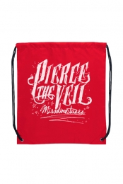 Misadventures Cinch Bag (Red)