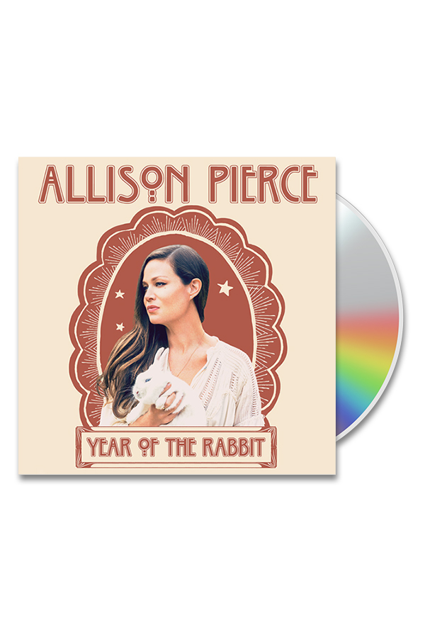 year of the rabbit cd music allison pierce music online store on district lines. Black Bedroom Furniture Sets. Home Design Ideas