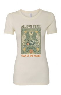 Rabbit Womens Tee (Ivory)