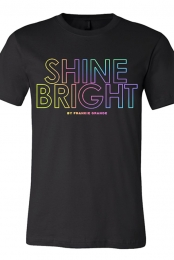 Shine Bright Tee (Black)