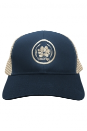 Magnolia Unstructured Mesh Trucker Cap