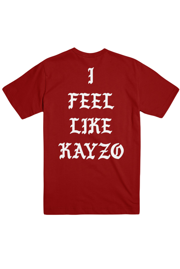 I Feel Like KAYZO Tee (Red)
