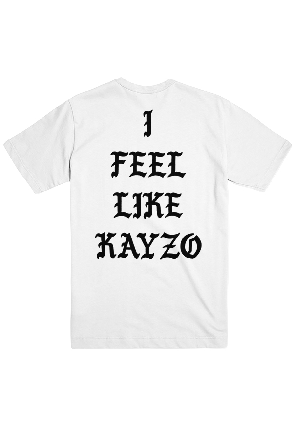 I Feel Like KAYZO Tee (White)