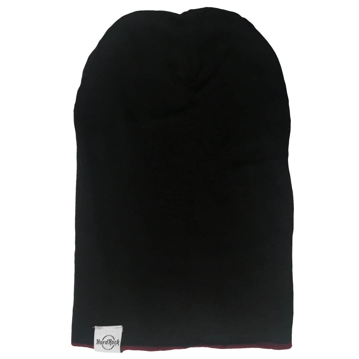Reversible Slouch Beanie Wine Black 0
