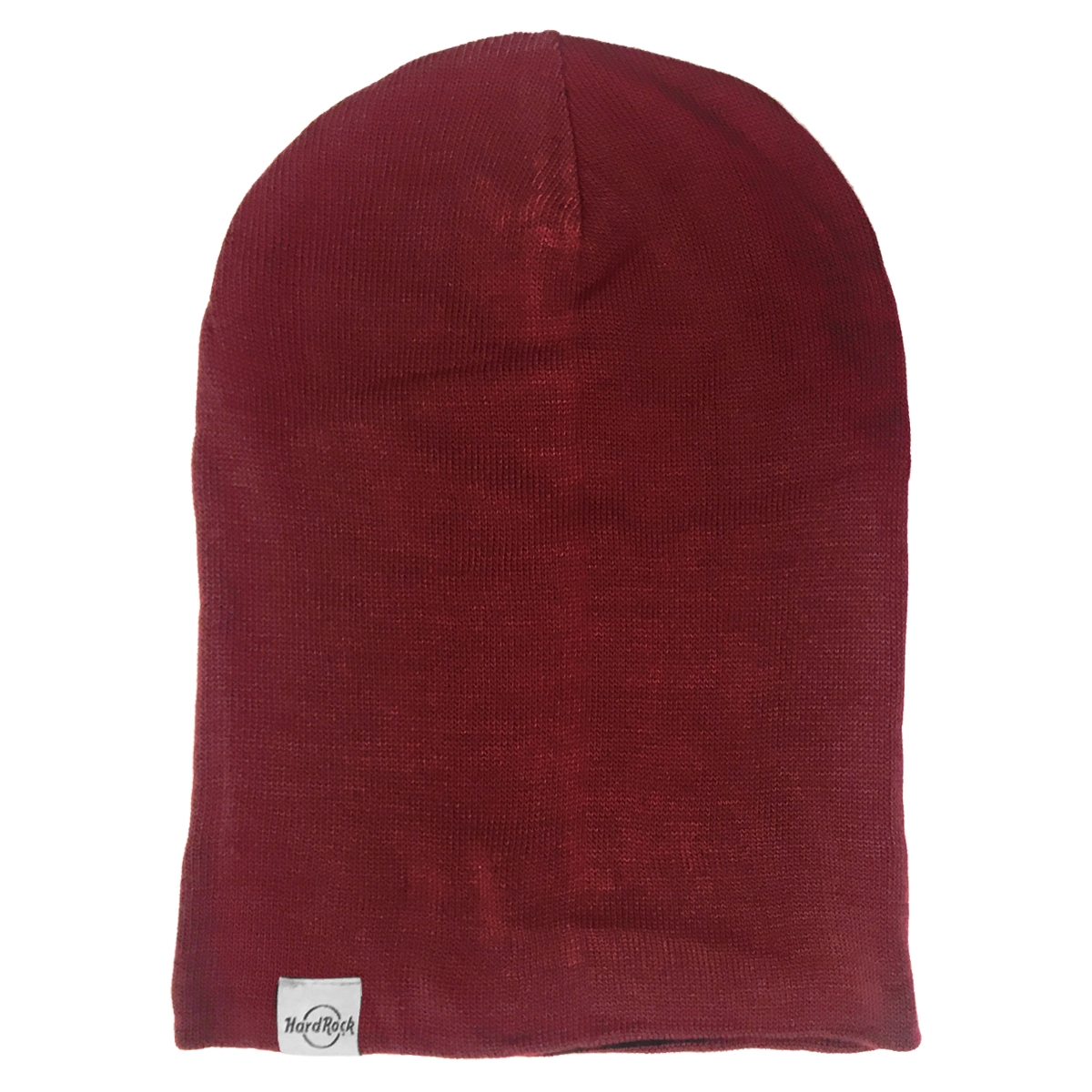 Reversible Slouch Beanie Wine Black 1