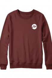 Simple Logo Crewneck (Maroon)