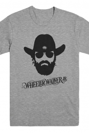 Ol Wheeler Tee (Deep Heather)