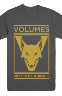 Different Animals Tee (Charcoal)