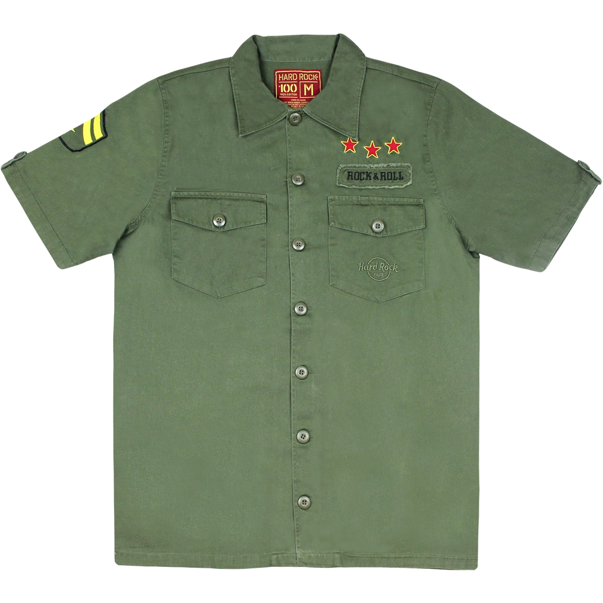Mens Scout Shirt Military Green 0