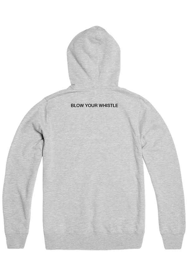 Whistle Wars Pullover Hoodie (Grey)