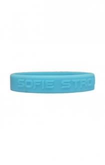 Sofie Strong Wristbands (Light Blue)