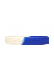 Sofie Strong Wristbands (White / Blue)