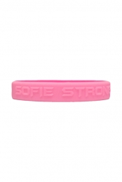 Sofie Strong Wristbands (Hot Pink / Light Pink)