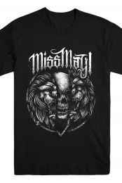 Lions Skull Cracking Tee (Black)