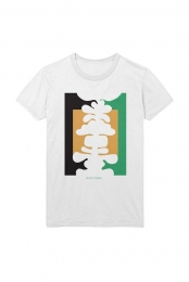 Abstract Tee - White