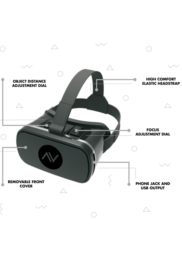 Atticus VR Headset Bundle 1