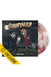 Goldfinger - The Knife (smartpunk exclusive / Ultra Clear with Oxblood Smoke vinyl /475)