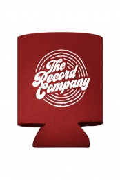 Circle Logo Koozie (Red)