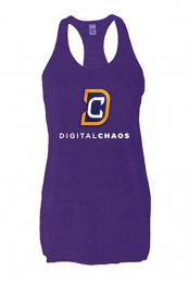 Digital Chaos Girls Tank (Heather Purple)