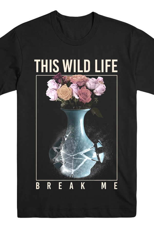 Break Me Vase Tee (Black)