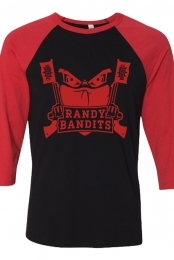 Randy Bandits Raglan (Black/Red)