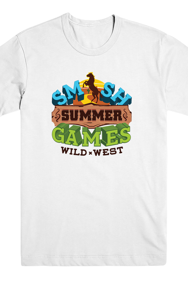 Summer Games Unisex Tee (White)