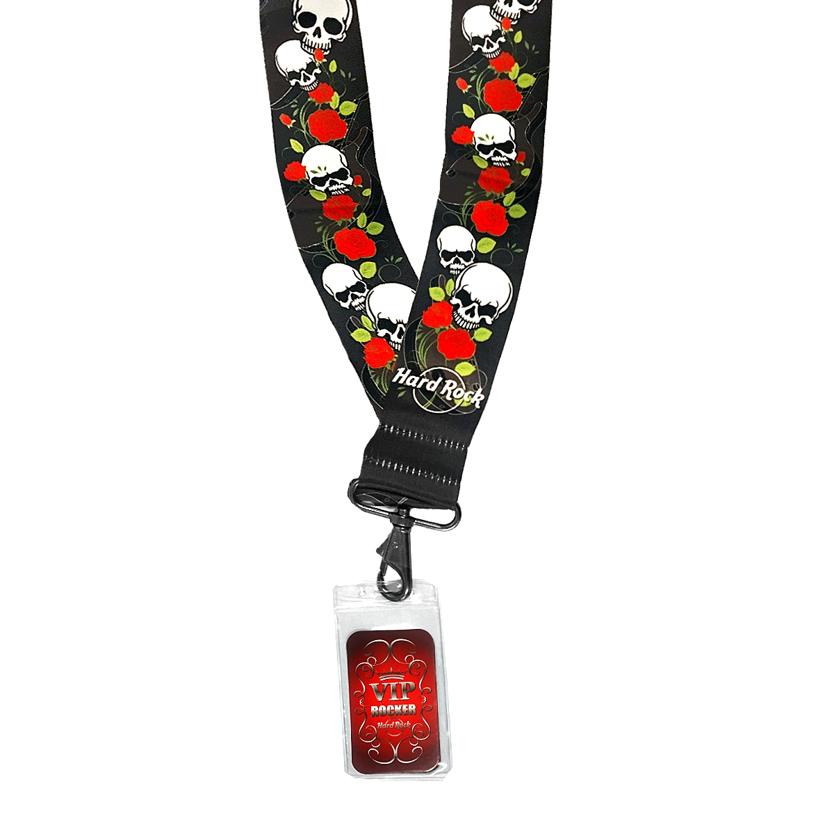 Skull and Roses Start Up Lanyard 1