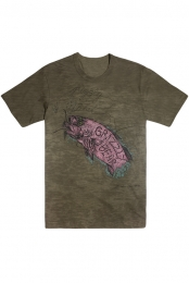 Distressed Fish Women's Tee