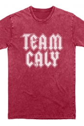 Team Caly Vintage Tee (Red)