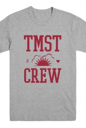 TMST Crew Tee (Heather Grey)