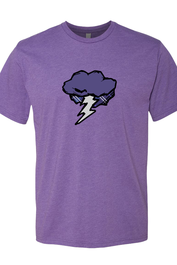 Anxiety Tee (Purple)