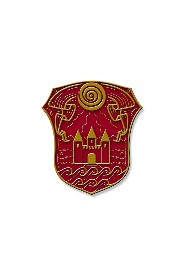Creativity Enamel Pin