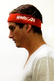 Logo Headband (red)
