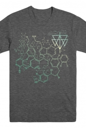 Chemical Tee (Heather Dark Grey)