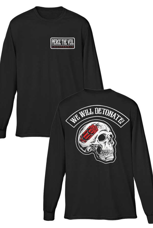 We Will Detonate Long Sleeve (Black)