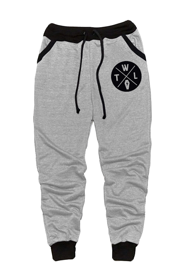 Coffin Joggers (Grey/Black)