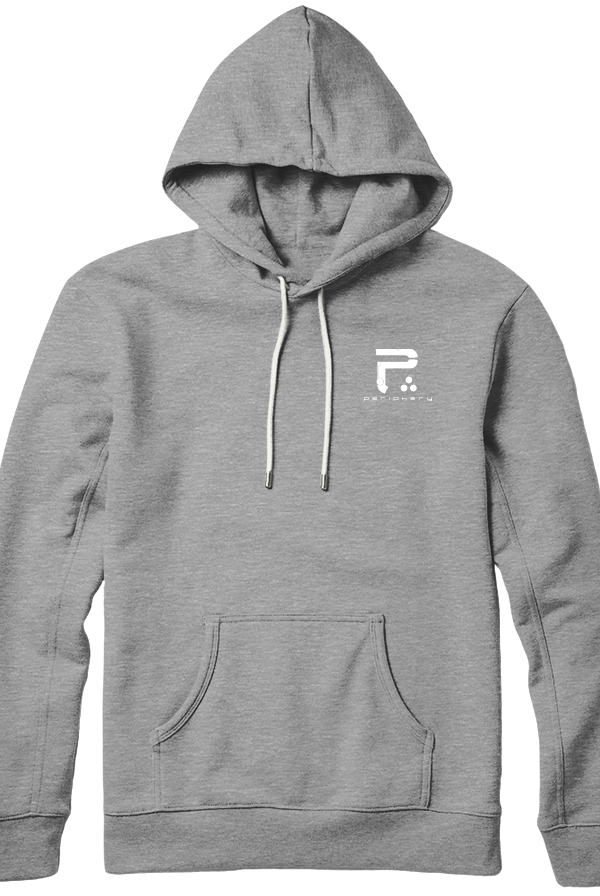 Logo Pullover Hoodie (Heather Grey)