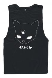 Alien Cat Tank - Tillie