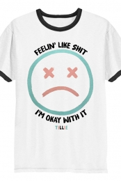 Feelin Like Shit Ringer Tee