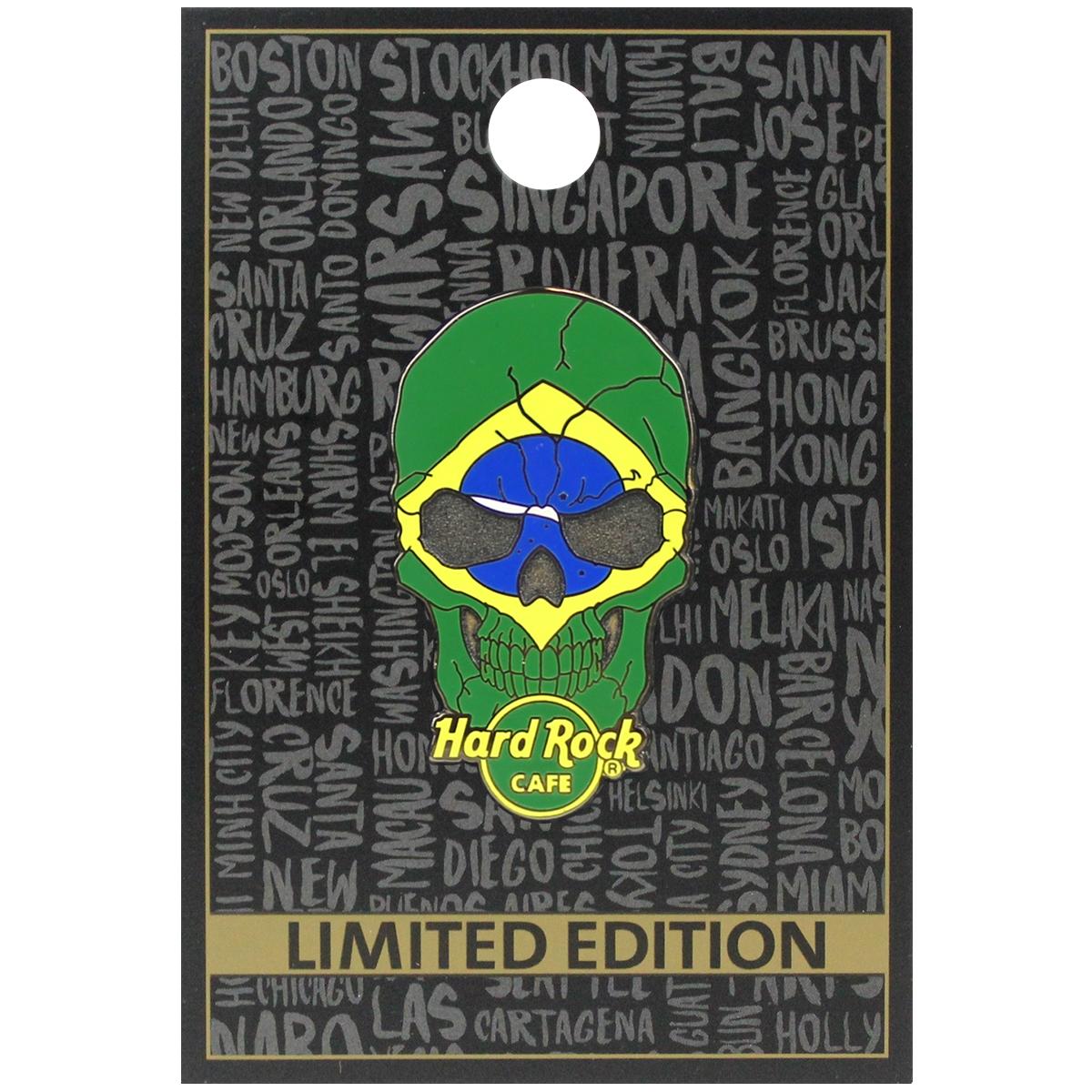 Skull Flag Series 4 Brazil 0