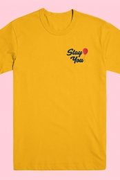 Stay You Tee (Yellow)