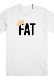 Fat Tee (White) - Bo Peoples